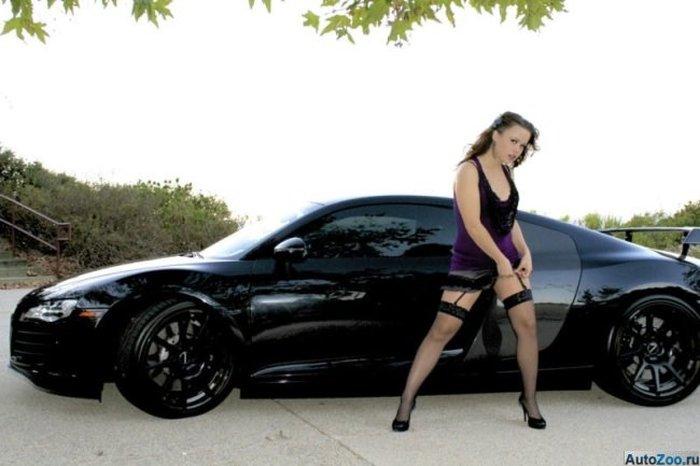 """""""Девушка"""" хотела продать Audi R8 поскорее (8 фото)"""