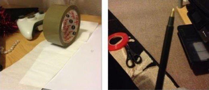 Жесткий прикол с туалетной бумагой (3 фото)