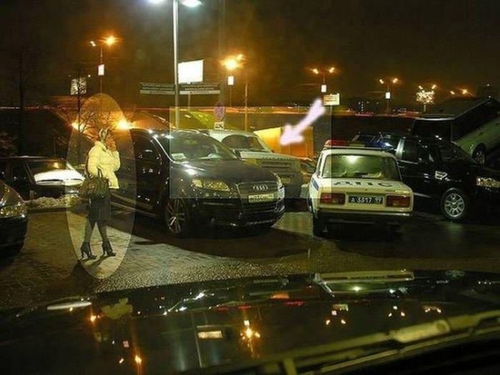 Когда не срабатывает задний парктроник - быть беде (5 фото)