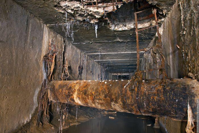 Затопленные подземелья Москвы (51 фото)