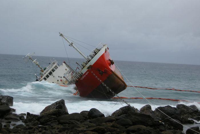 Terk Edilmiş Gemi Kalıntıları (30 Fotograf)