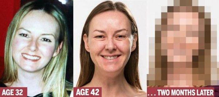 Женщина по имени Карен недавно взяв в руки свою фотографию 10-летней давности ужаснулась от того как она постарела.