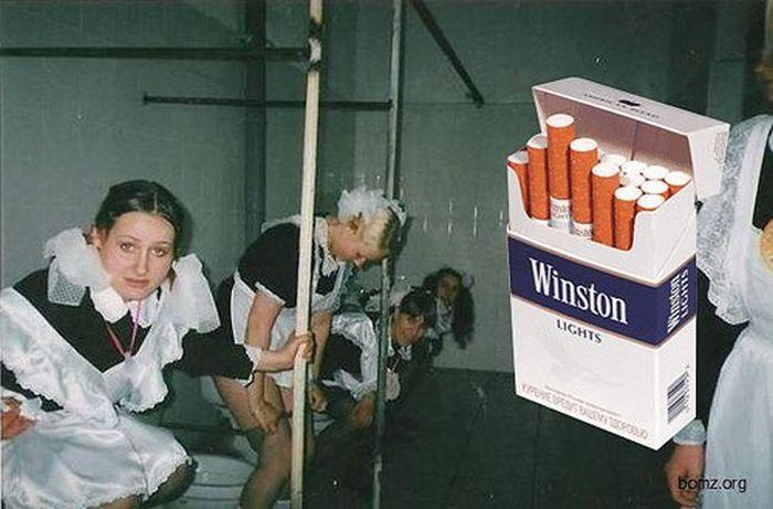 смешные фото про курение лучше