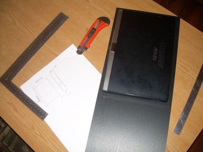Делаем бронированный чехол для нетбука (10 фото)