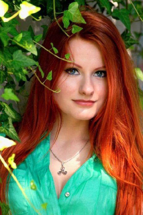 Рыжеволосые красавицы (41 фото)