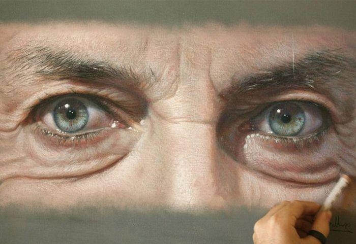 Невероятно реалистичные профессиональные рисунки (17 фото)