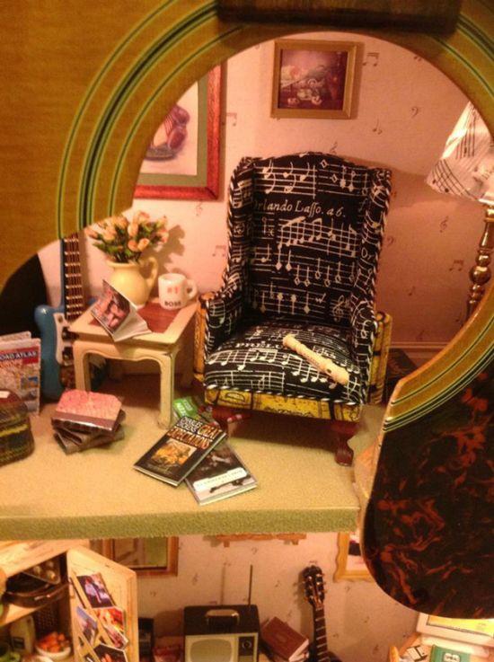 Необычная комната, как подарок для своей дочери (3 фото)