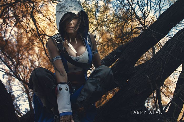 Симпатичная девушка в костюме Assassin's Creed (7 фото)