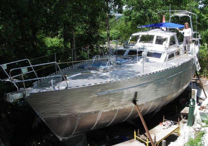 Сделать яхту своими руками фото 647