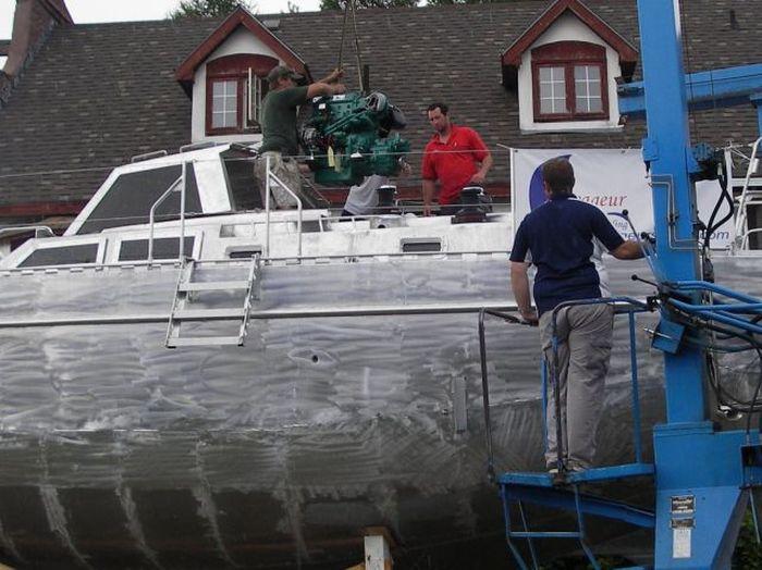Шикарная яхта своими руками (72 фото)