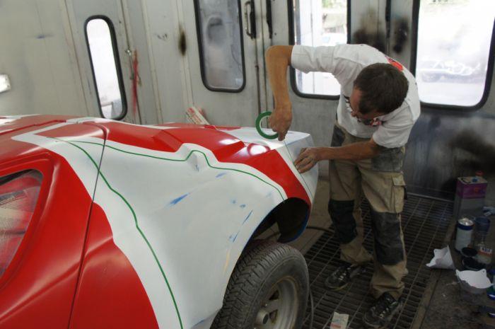 Как профессионалы восстановили спортивный автомобиль Eagle SS (18 фото)