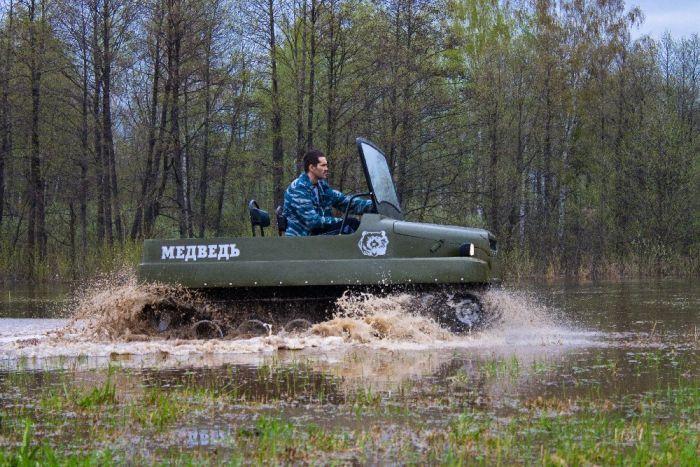 """Вездеход """"Медведь"""" - отличное решение для охоты и рыбалки (31 фото)"""