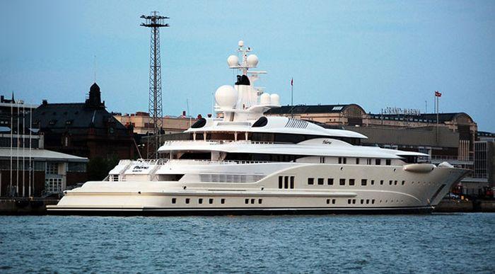 Самые шикарные и дорогие яхты в мире (10 фото)