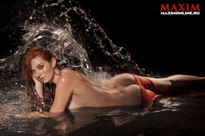 """Лена Катина из """"Тату"""" разделась для журнала Maxim (6 фото)"""