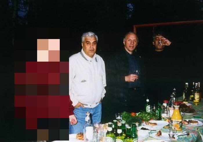 Владимир Путин и криминальный авторитет Дед Хасан (1 фото)