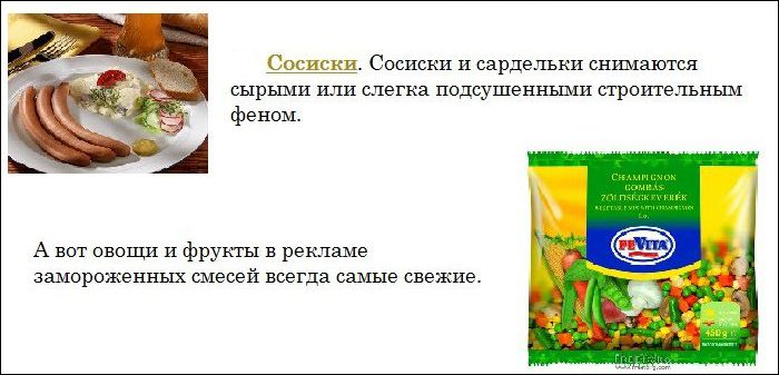 Факты о рекламе продуктов, которые нужно знать каждому (11 фото)