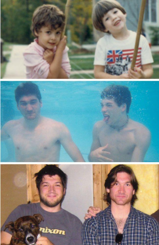 Лучшие друзья сквозь годы (7 фото)