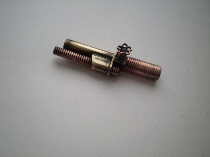 Стимпанк USB-зажигалка своими