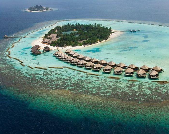 Удивительно красивые острова - Мальдивы (34 фото)