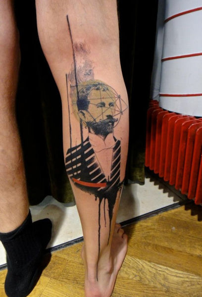 Татуировки по мотивам Фотошопа (29 фото)