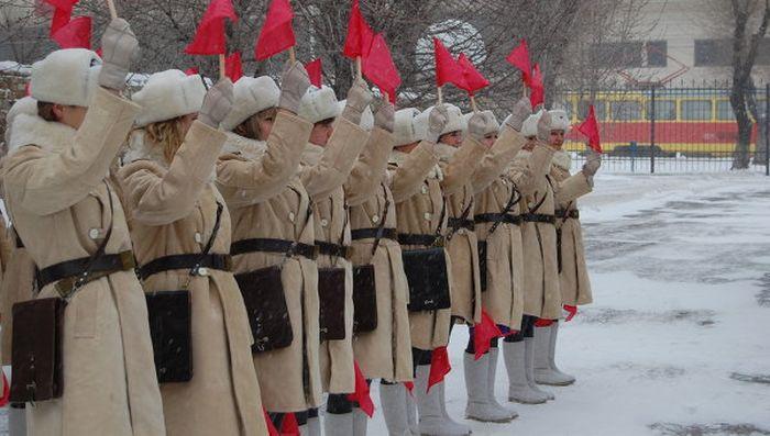 Регулировщицы в уникальной военной форме выйдут на улицы Волгограда (5 фото + видео)