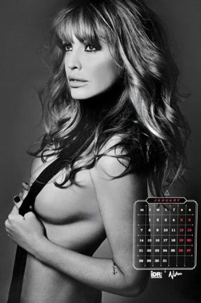 Эротический календарь с участием Ольги Родионовой 18+ (9 фото)