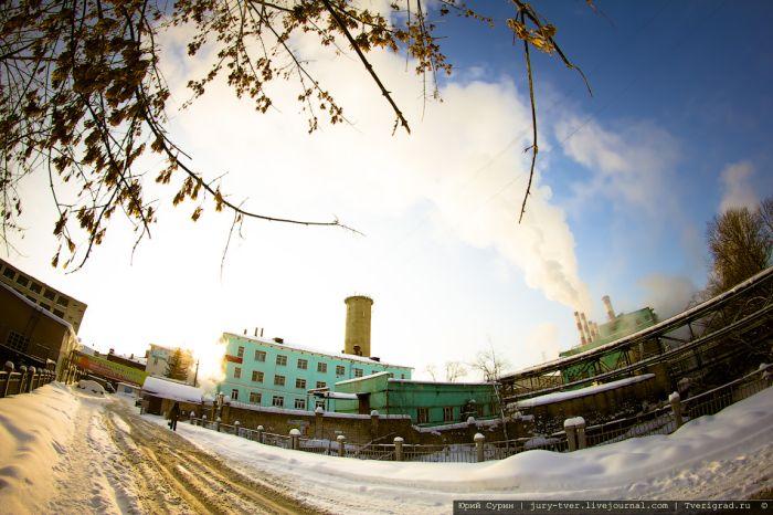 Заброшенный Калининский хлопчатобумажный комбинат в Твери (29 фото)