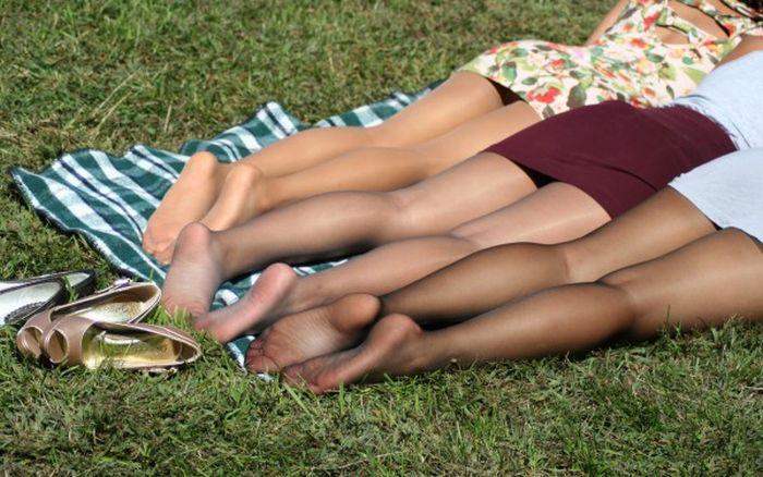 красивые ножки в колготках фото