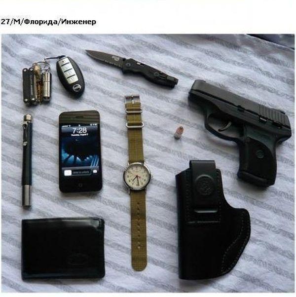 А что у вас в карманах? (23 фото)