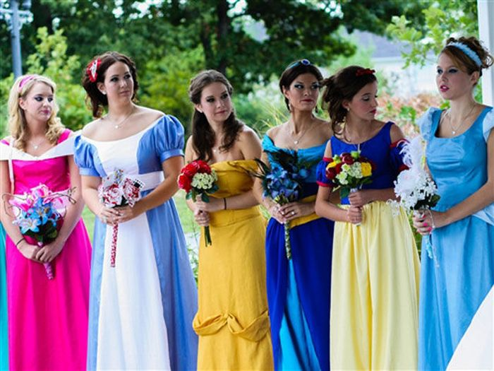 Тематическая свадьба в стиле Диснеевского мультфильма (21 фото)