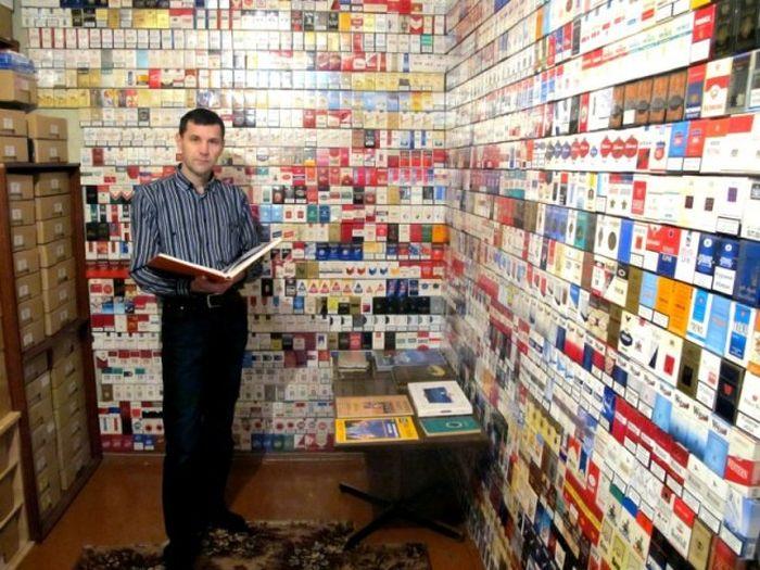 Необычное хобби некурящего человека (21 фото)