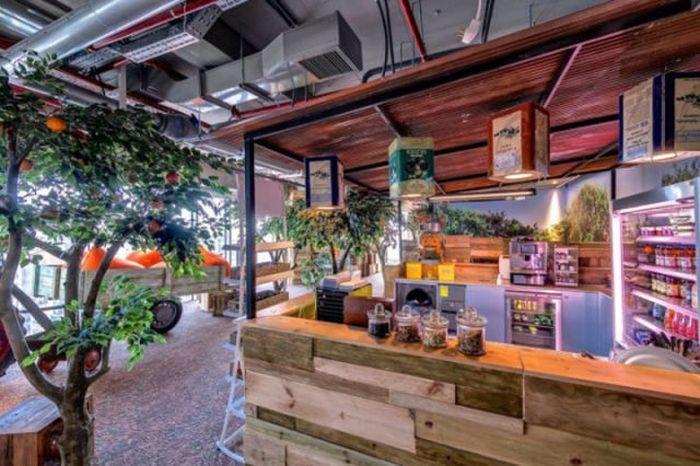 Новый офис Google в Тель-Авиве (52 фото)