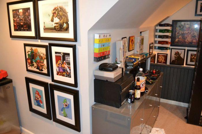 Комната мечты для геймера (18 фото)