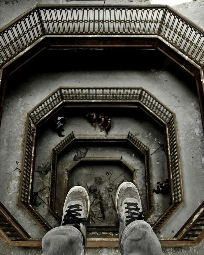 Бесстрашные люди на огромной высоте (30 фото)