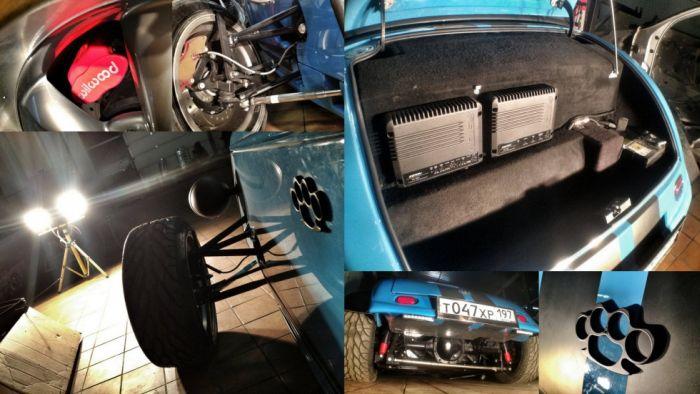 Интересный фотоотчет о сборке Hot Rod'а Factory Five (20 фото)