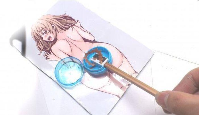Точилка для карандашей эротического характера (6 фото)