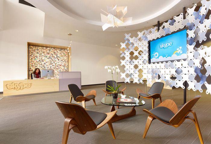 Офис Skype в Калифорнии (20 фото)