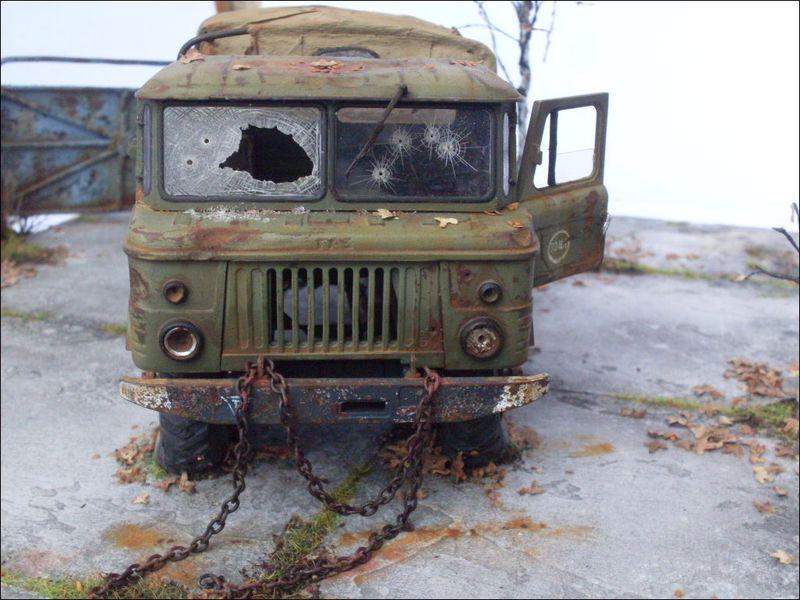 Отрешенный ГАЗ-66 (10 фото)