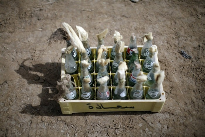 Самодельное оружие повстанцев (14 фото)