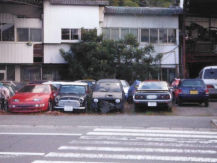 Японское кладбище автомобилей (60 фото)