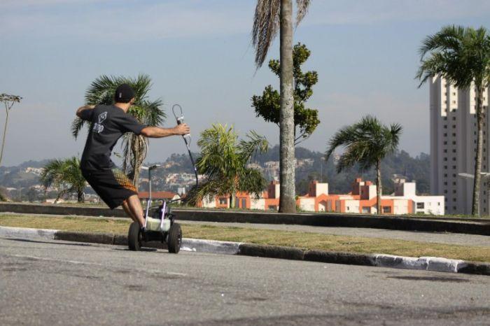 Моторизированный скейт (17 фото)