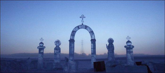 Когда за окном температура воздуха -71 градуса (33 фото)