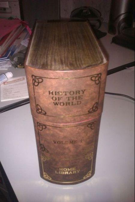 Почему отец прятал книгу (3 фото)