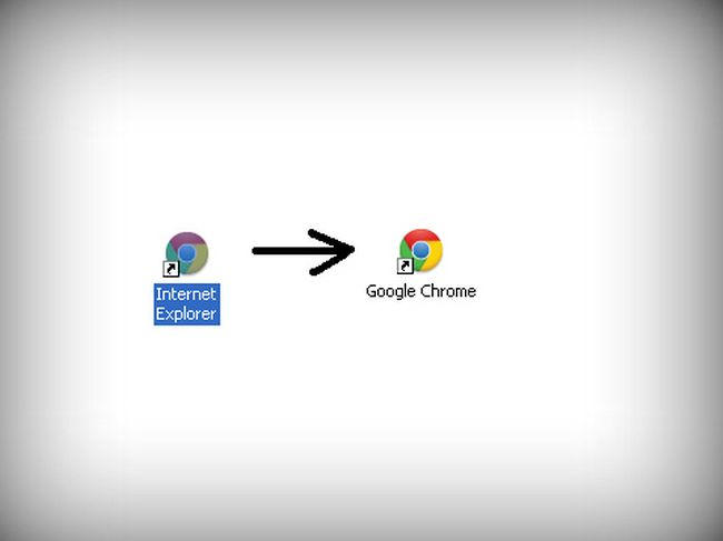 Троллим друзей, превращая Internet Explorer в Google Chrome (5 фото)
