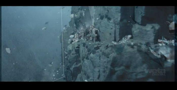 """Хоббит"": раскадровка по спецэффектам (38 фото)"