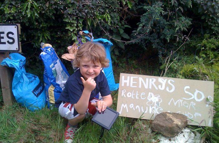 Самый маленький предприниматель Великобритании (5 фото)