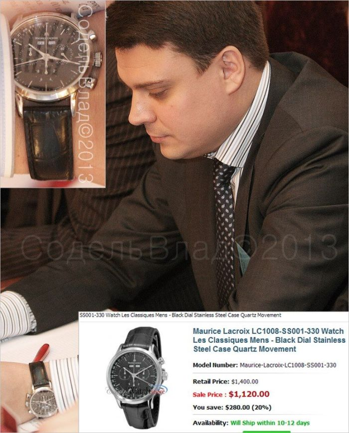 Часы старшего сына Януковича стоимостью 42,5 тысячи долларов (17 фото)