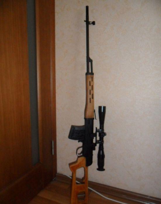 Как сделать в дома ружье