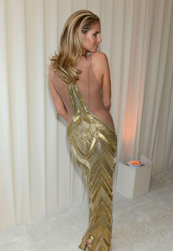 Обворожительная Хайди Клум на вручении Оскар 2013 (13 фото)