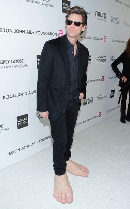 Необычный костюм Джимма Керри на премии Оскар 2013 (5 фото)